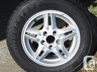 This was the spare MAG WHEEL & TIRE has never been on