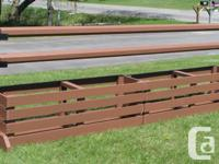 I build and sell new horse jumps. From Hunter to