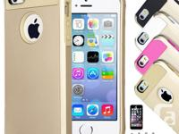 "NEW & GOLD APPLE IPHONE 6+ PLUS (5.5"") CASE COVER IN"