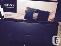 New in box never used Sony docking terminal for apple