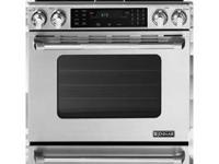 "NEW JENN-AIR 30"" PROPANE GAS CONVECTION  SLIDE-IN RANGE"