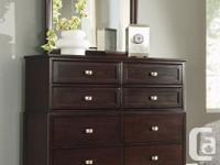 Brand New Karolino Dresser and Mirror on Sale for 649