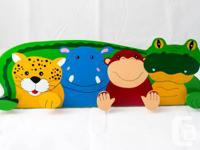 NEW - KIDS WOODEN TOYS AND PUZZLES  WE ARE A SMALL