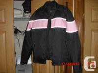 Jacket Size XL and pants are 34 waist, /helmet is /size