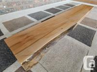 I have available 2 BigLeaf maple mantels. One with a