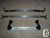 Strut bars will fit many years of Hondas and Acuras,