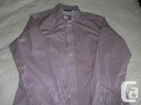 Washed but never worn men's size large dress shirts