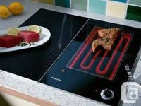 New Miele KM408 CONTACT ELECTRIC GRIDDLE  11 3/8""