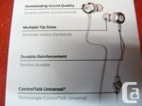 New MONSTER Clarity HD High definition in ear