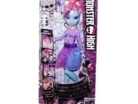 I have a New Monster High Doll Extension Abbey DVD, used for sale  Ontario