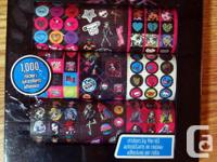 I have a New Monster High Stickers by the Roll