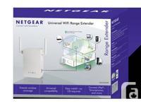 WiFi Range Extender. 802.11 n, 1-Port, Wall-plug,