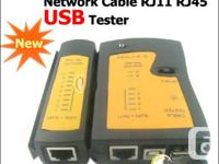 For sale brand new NETWORK USB CABLE LAN TESTER RJ11