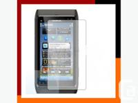 For sale brand new screen protector for Nokia N8.