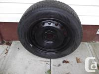 Bouhgt as a full size spare 225-60 R18 100W for Dodge
