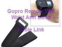 Nylon Velcro WiFi Remote Hand Wrist Armband Strap Belt