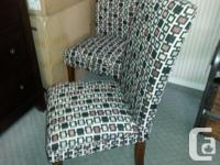 Brand New Pair of Accent Chairs on Sale for 129