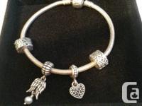 Hello, I'm selling my Pandora bracelet simply because