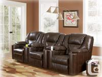 Brand New Paramount Leather Power Recliner on Sale for