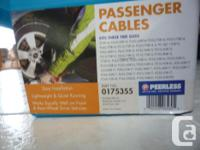 Brand new/in the case. Passenger car cables. Peerless.