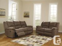 New Patrickson Coffee Reclining Sofa Collection on