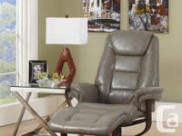 Brand New Paulie Leather Comfort Lounger on Sale for