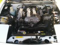 Make Mazda Model MX-5 Miata Colour White Trans Manual