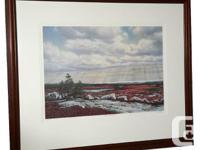 "A lovely print of ""October Blueberries"" from Nova"