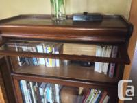 Antique Notary bookcase - 3 stacking sectional,in very