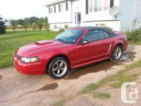 Make Ford Model Mustang Colour red Trans Manual kms