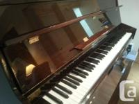 Beautiful upright Bergmann Heritage series by Young