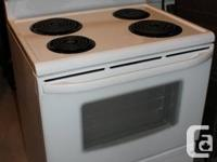 Features:  4 burners (2lg, 2sm),  Accent Light on top -