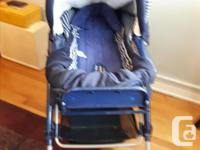 Gently used Italian made Peg Perego Stroller/Pram. Cup