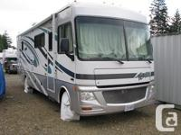 This impressive Class A Motor Home is ready for you to