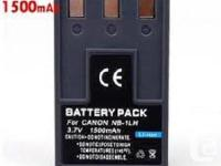 New Replacement Battery for Canon NB-1L NB1L -New