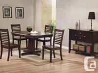 Brand New Santa Fe Dining Suite on Sale Table and 4