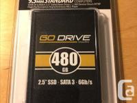 "VisionTek GoDrive 2.5"" 480GB SATA III MLC Internal"