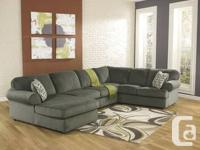 NEW Sectional available in 3 great color choices AND