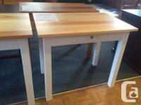 Checkout these locally made desks available in custom
