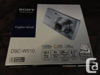"""New"" SONY - Cyber-shot *DSC-W510* DIGITAL CAMERA &"