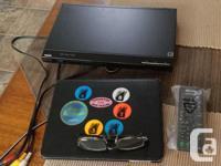 Never used: - compact DVD Player Via HDMI, Multi-Brand