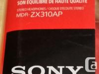 I have available one pair NEW Red color the box Sony