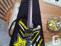 Selling a sterling by Musicman AX 20 electric guitar I