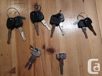 These OEM key sets are a must for the serious auto