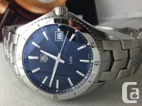 Beautiful Men's New condition TAG Heuer Link model with