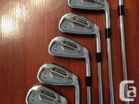 TaylorMade RSi2 Irons Right Handed Stiff Flex Stock KBS