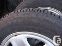 4 ALL SEASON TIRES 225 65 17 M&S GOOD YEAR ULTRA GRIP