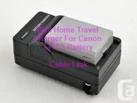 Battery Charger For Canon LP-E5 LPE5 EOS Rebel XS XSi
