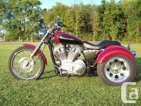 NEW Harley Davidson Sportsters Trike Conversion Kits It