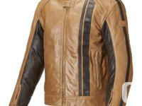 Brand new Triumph Raven tan leather jacket. Never been